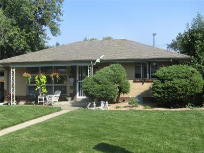 Commerce City Single Family Home Active: 6061 Demott Avenue