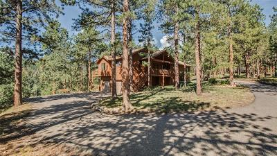 Conifer Single Family Home Under Contract: 27900 Hidden Trail