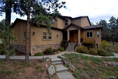 Woodland Park Single Family Home Active: 450 Fairfield Lane