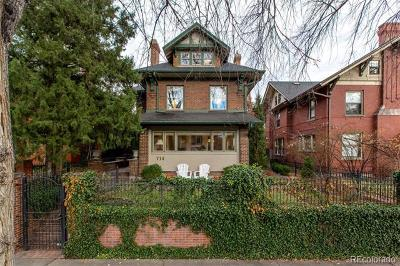 Denver Single Family Home Active: 714 North Humboldt Street