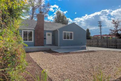Wheat Ridge Single Family Home Active: 3850 Harlan Street
