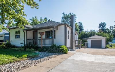 Wheat Ridge Single Family Home Active: 3870 Reed Street