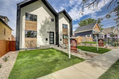 Denver Condo/Townhouse Active: 4111 Osage Street