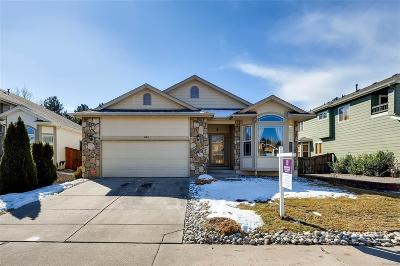 Highlands Ranch Single Family Home Under Contract: 9260 Desert Willow Road