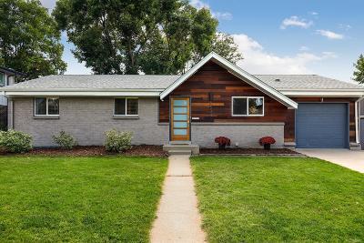 Denver CO Single Family Home Active: $549,999