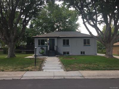 Wheat Ridge Single Family Home Under Contract: 3545 Fenton Street