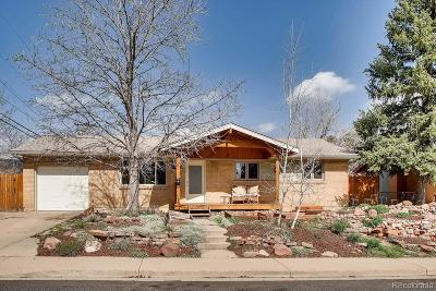 Boulder CO Single Family Home Active: $690,000