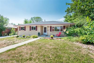 Arvada Single Family Home Active: 6175 Brentwood Street
