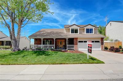 Centennial Single Family Home Active: 5622 East Weaver Circle