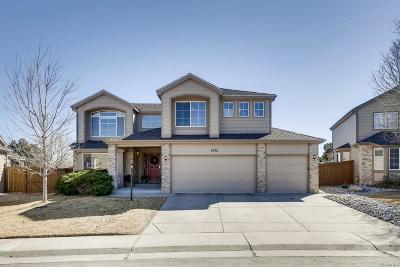 Centennial Single Family Home Under Contract: 5772 South Jasper Way