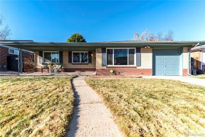 Denver Single Family Home Under Contract: 1517 South Jasmine Street