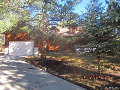 Larkspur Single Family Home Under Contract: 929 Tenderfoot Drive