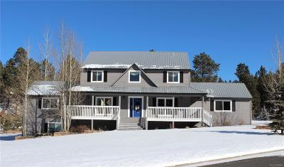 Woodland Park Single Family Home Under Contract: 760 Majestic Parkway
