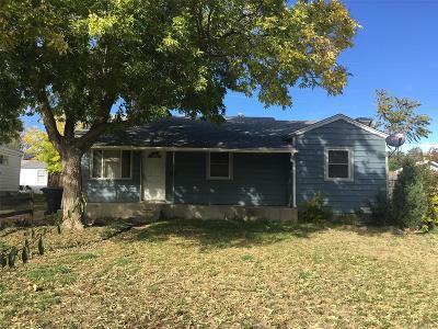 Thornton Single Family Home Under Contract: 1621 Ruth Drive
