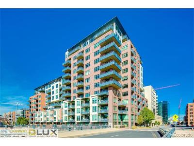 Denver Rental Active: 1401 Wewatta Street #504