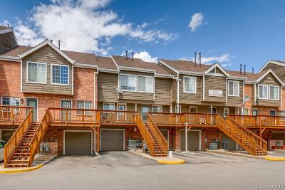 Aurora Condo/Townhouse Under Contract: 17101 East Baltic Drive #D