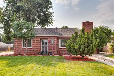 Denver Single Family Home Active: 2501 Oneida Street