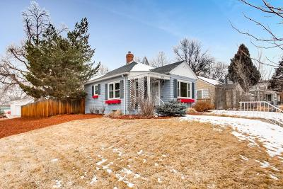 Denver Single Family Home Under Contract: 1495 South Steele Street