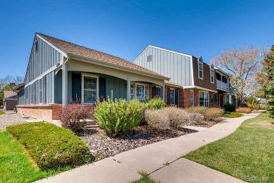 Denver Condo/Townhouse Under Contract: 8790 East Yale Avenue #F