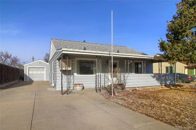 Commerce City Single Family Home Under Contract: 5203 East 60th Way