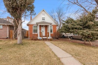 Denver Single Family Home Active: 1611 Wolff Street