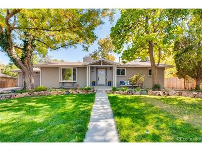 Littleton Single Family Home Under Contract: 6886 South Sycamore Street