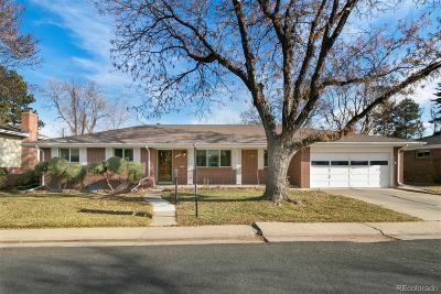 Denver Single Family Home Active: 2676 South Leyden Street