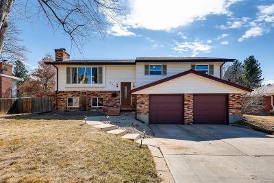 Centennial Single Family Home Active: 900 East Dogwood Avenue