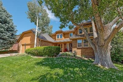 Centennial Single Family Home Under Contract: 5548 South Ouray Street