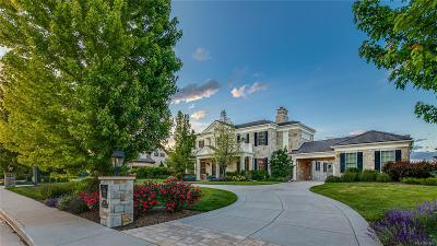 Greenwood Village CO Single Family Home Active: $3,795,000