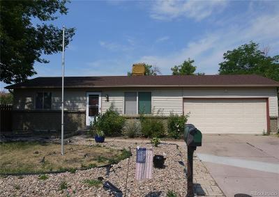 Aurora Single Family Home Active: 3385 South Hannibal Street