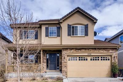 Castle Rock Single Family Home Active: 2230 Broadleaf Loop