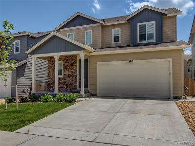 Castle Rock Single Family Home Active: 3912 Trail Stone Circle