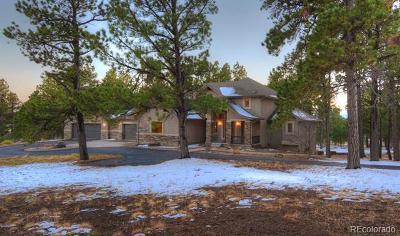 Colorado Springs Single Family Home Active: 5265 Hidden Rock Road