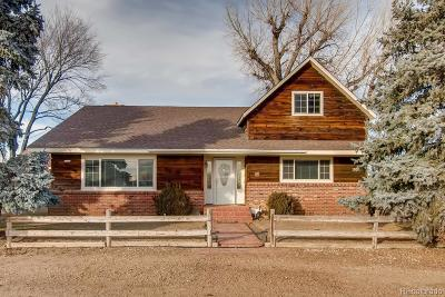 Longmont Single Family Home Under Contract: 1489 County Road 32