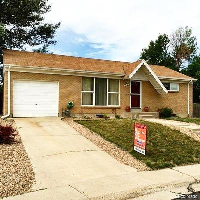 Northglenn Single Family Home Active: 10437 Corona Street