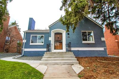 Denver Single Family Home Active: 3075 Ash Street