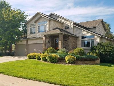 Littleton Single Family Home Active: 5082 South Miller Court