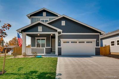 Denver Single Family Home Active: 7876 Shoshone Street
