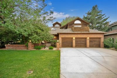 Centennial Single Family Home Under Contract: 5771 South Kalispell Court