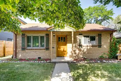 Denver Single Family Home Active: 1135 Locust Street