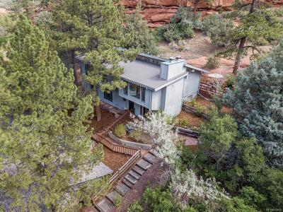 Larkspur Single Family Home Under Contract: 4915 Red Rock Drive