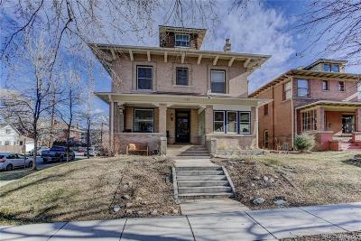 Denver Condo/Townhouse Under Contract: 1176 Gaylord Street #1