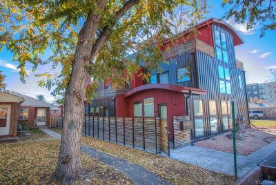 Denver Condo/Townhouse Active: 1544 Zenobia Street #101