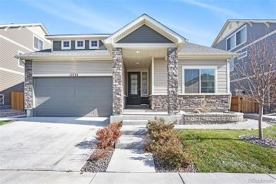 Commerce City Single Family Home Active: 10730 Worchester Way