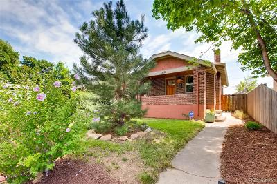 Denver Single Family Home Active: 3136 North Columbine Street