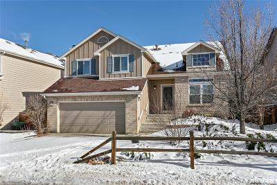Highlands Ranch Single Family Home Under Contract: 9828 Spring Hill Drive