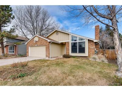 Centennial Single Family Home Active: 8177 South Trenton Way