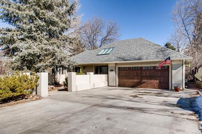 Wheat Ridge Single Family Home Under Contract: 4080 Dover Street