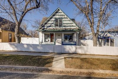 Lafayette Single Family Home Under Contract: 203 East Cleveland Street